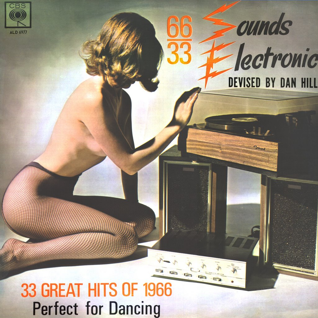 Dan Hill. Sounds Electronic 66-33. Rare 1966 South African Cheesecake, front cover