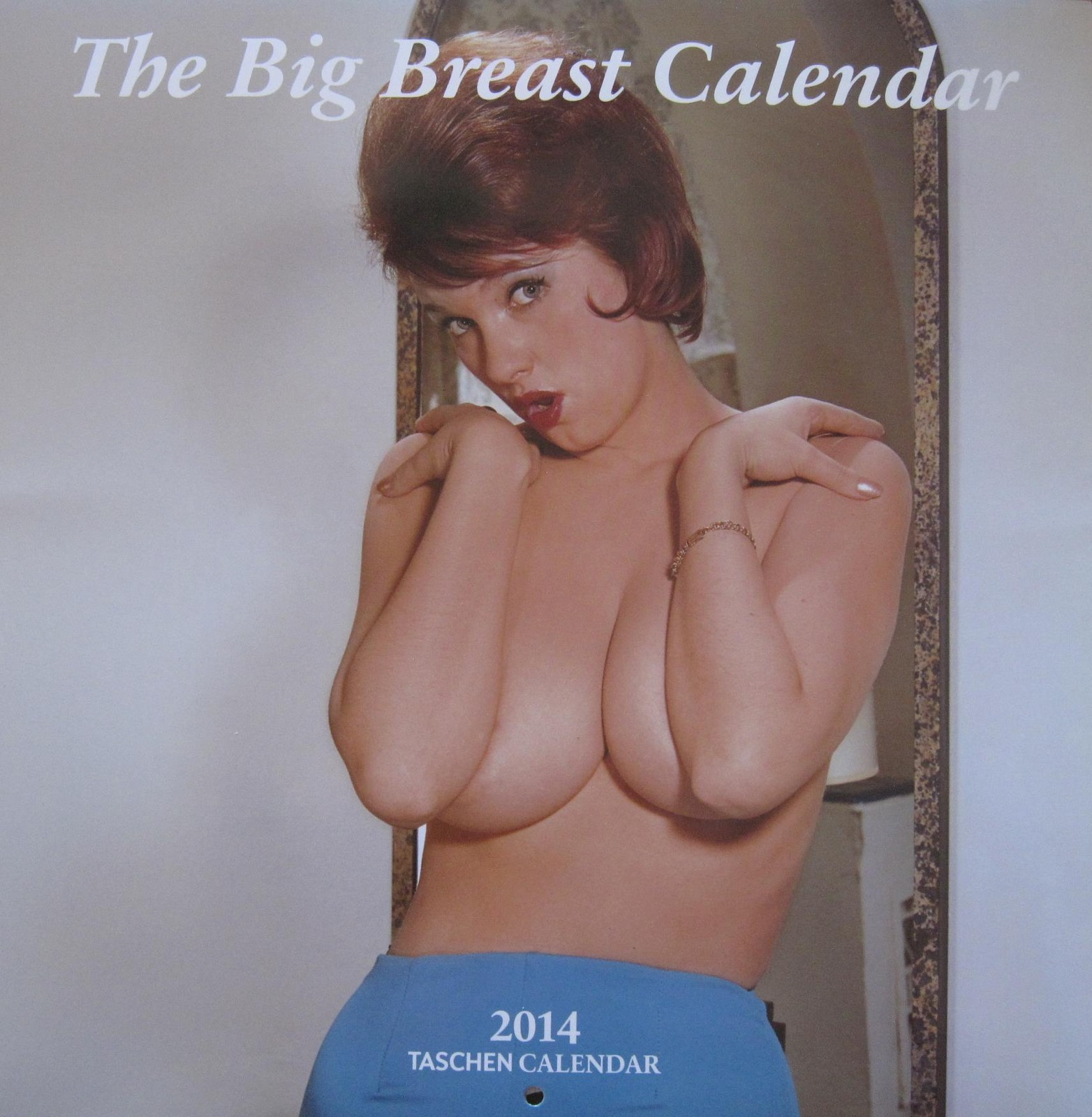 TASCHEN'S 2014 BIG BREAST WALL CALENDARS (5 SEALED and MINT COPIES)