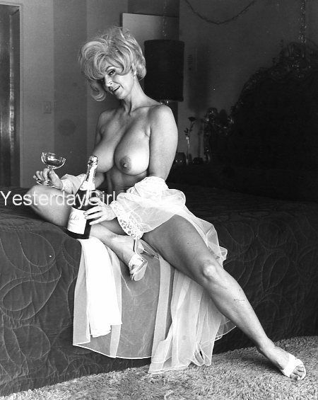 YGBB-289 BIG BOOK OF BREASTS PUBLISHED 1960'S B&W 8X10 BUSTY CANDY SAMPLES