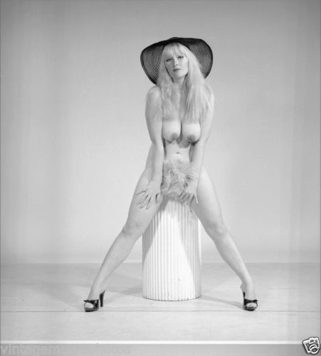 Vintage THE MINX Original B&W STRIPPER 120 Film Negative (NUDES)
