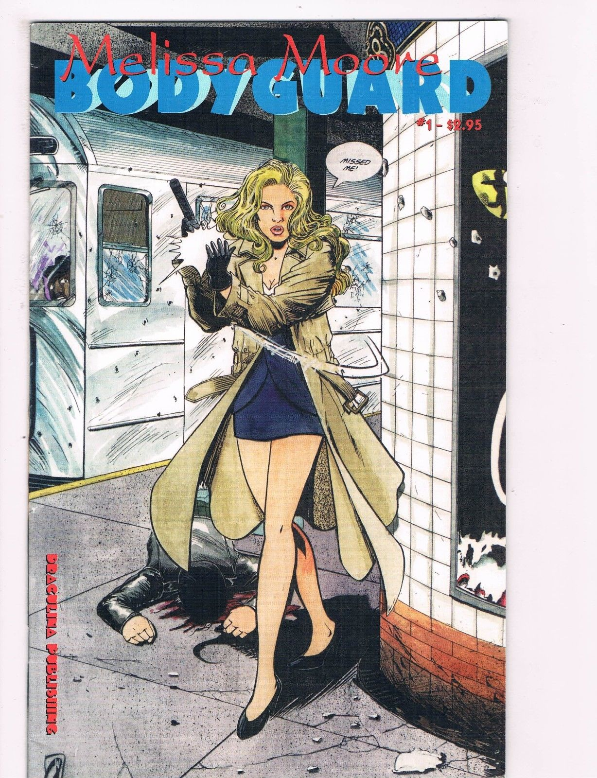 Melissa Moore Body Guard # 1 Draculina Publishing Comic Book Modern C99 (1)