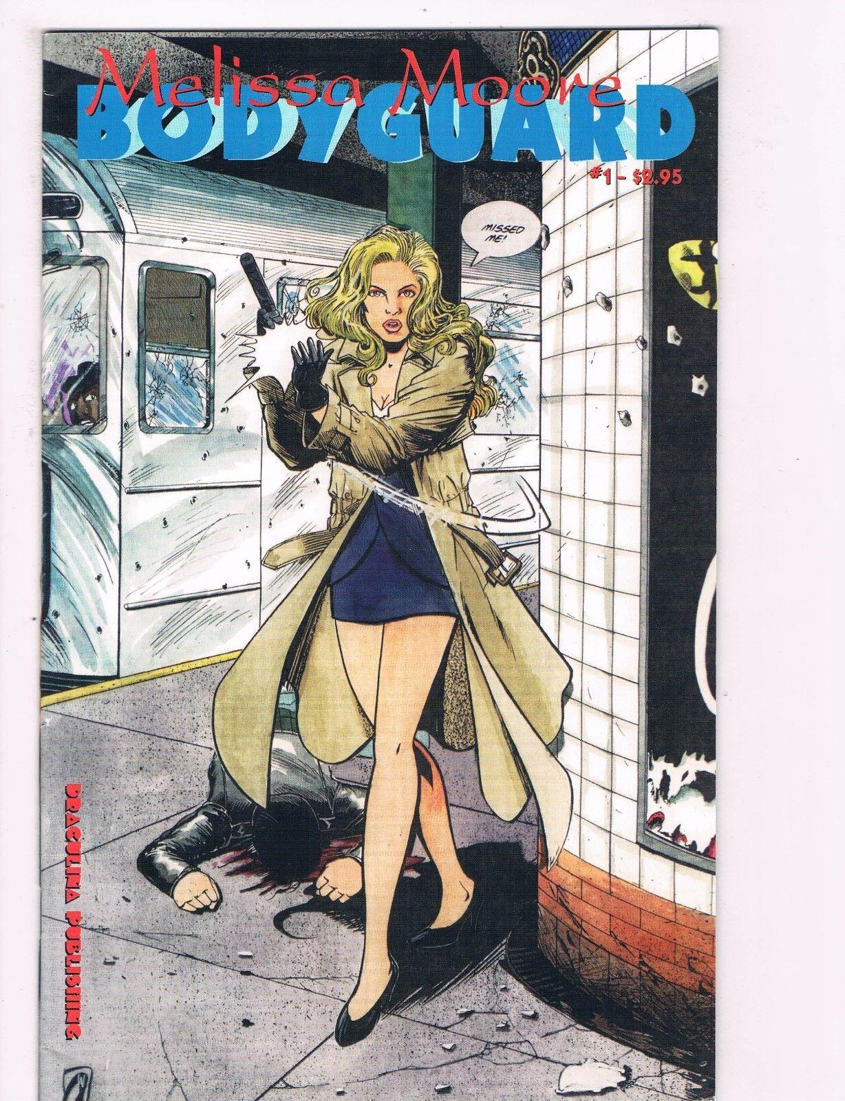 Melissa Moore Body Guard # 1 Draculina Publishing Comic Book Modern C99 (1)