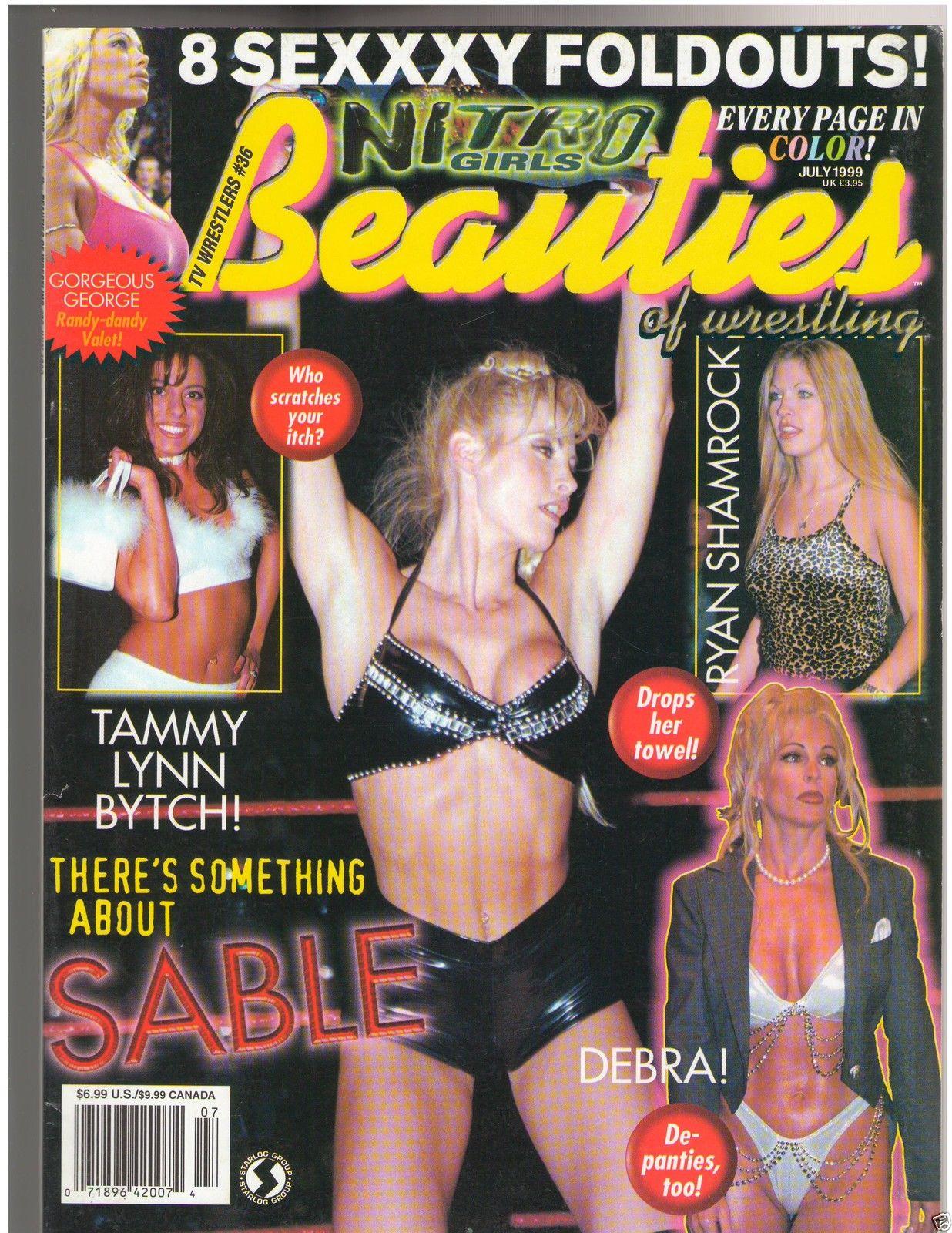 Beauties Of Wrestling  7-99