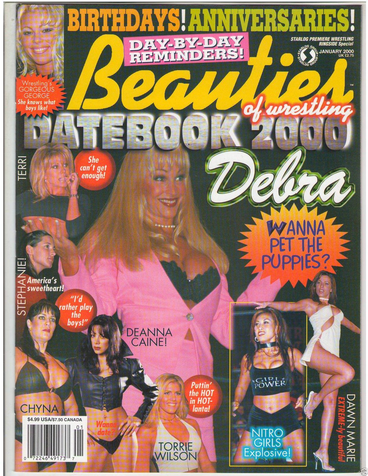Beauties Of Wrestling DATEBOOK  1-00
