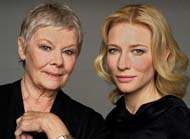 Cate Blanchett and Judi Dench on their characters in the film #1