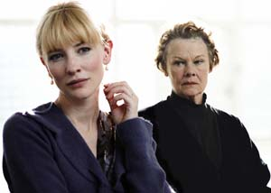 Cate Blanchett and Judi Dench on their characters in the film #4